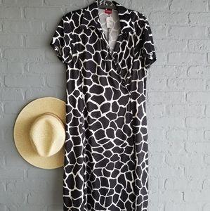 Merona Print Faux Wrap Dress